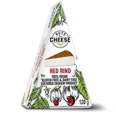 Nuts For Cheese Red Rind Flavour Box Packaging