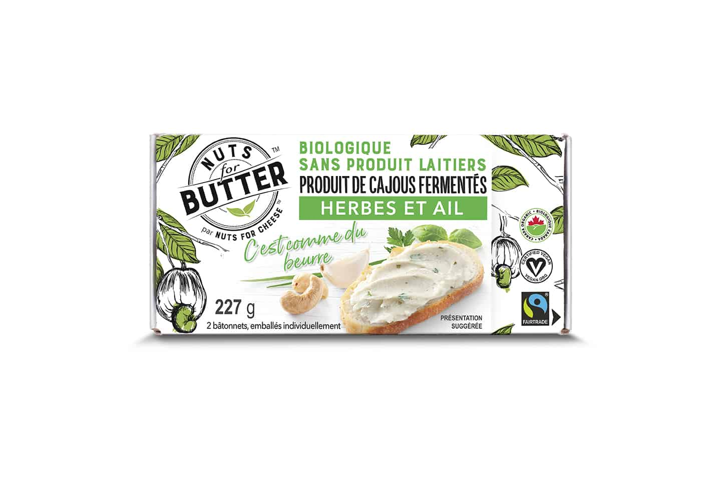 Nuts For Butter Herb & Garlic Box