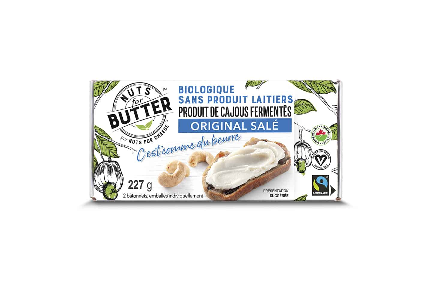 Nuts For Butter Salted Original box
